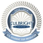 Fulbright Top Producer Bade 2018-2019