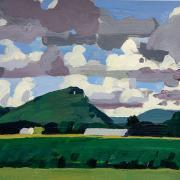 Painting of Mt Sugarloaf