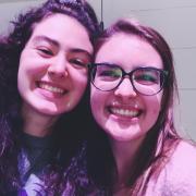 My friend Rachel and I!