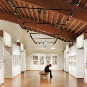 Interior of a Puget Sound art museum