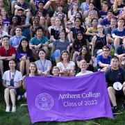 Students from the Amherst College Class of 2022