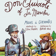 Don Quixote of La Mancha book cover