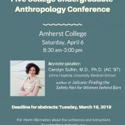Five College Undergrad Conference