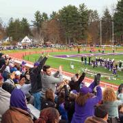 Football stadium at Amherst College