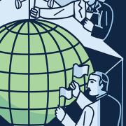 Toward a Global Future illustration