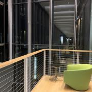 My hidden spot in the science center third floor