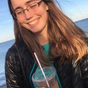 Me and an iced coffee on the Cape