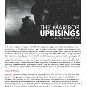 Maribor Uprisings - A Live Participatory Film