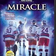 Miracle Movie Poster several hockey players on ice