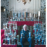 Barbara Tiffany's Bowling Trophies