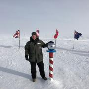 Johathan Vinson '93 at McMurdo Station in the Antarctica
