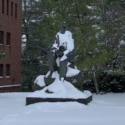 Robert Frost Statue