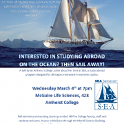 SEA Information Session Flyer