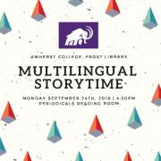 Multilingual Storytime flyer