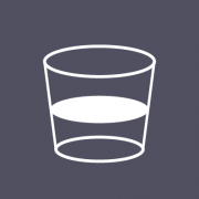 icon image of a glass containing liquid