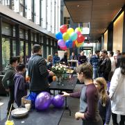 Physics and Astronomy draws a crowd