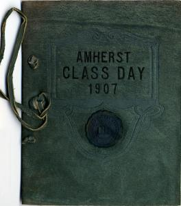 Class Day program booklet from 1907