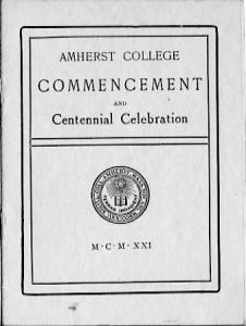 1921 Commencement