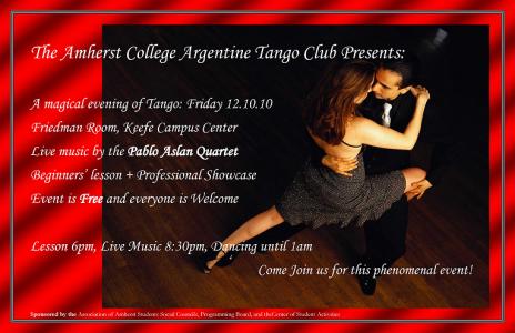 Argentine Tango Poster - Alex Jaramillo2