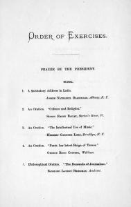 1871 Commencement program
