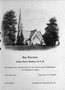 From the Class Day 1909 program booklet