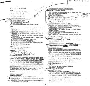 Annotated Reading List, page 2