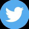 twitter logo blue