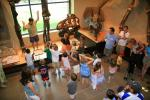 AC Alum Wes Dripps leads a children's tour