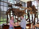 The Museum's 10,000th visitor greeted by Monitor Rachel Landman