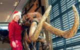 Santa and mastodon