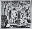 Cairicature des Baigneuses (Cham, 1854)