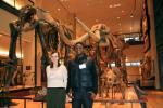Museum monitors Michelle and Tawanda