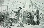 Caricature de L'atelier (1855)