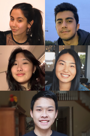 Tavus Atajanova, Ali Khoddam, Karen Liu, Esther Min, Yosen Wang